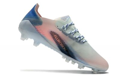Adidas X Ghosted .1 AG - White Bright Cyan Pink Football