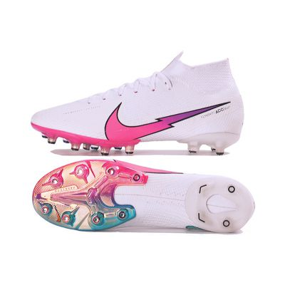 Nike Mercurial Superfly 7 Elite AG-Pro South Korea White Red Orbit Black Pink Beam
