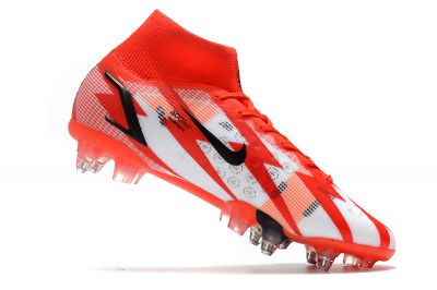 Cheap Nike Mercurial Superfly 8 Elite CR7 SG-PRO Chile Red Black Ghost Total Crimson