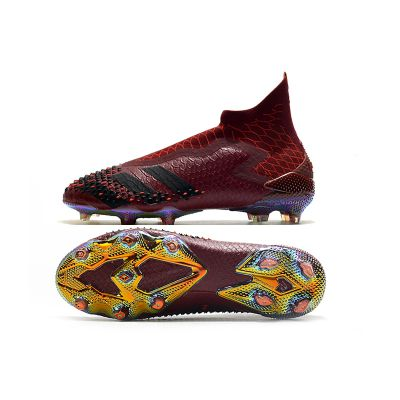 adidas Dragon Predator 20+ FG - Core Black/Burgundy LIMITED EDITION
