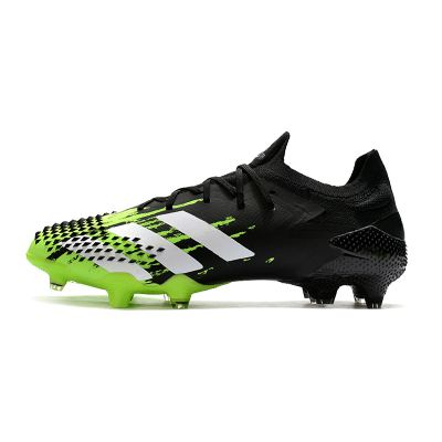 adidas Predator Mutator 20.1 Low FG Signal Green Black