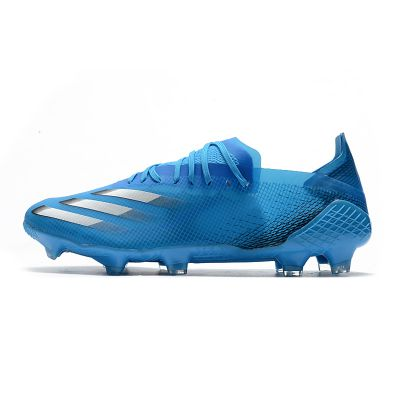 adidas X Ghosted 20.1 FG Blue Silver Metallic