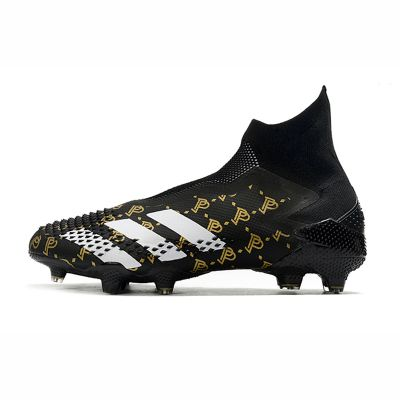 adidas Paul Pogba Predator Mutator 20+ FG Black White Gold Metallic