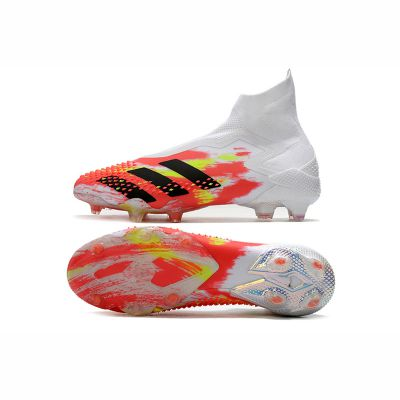 Kids adidas Predator Mutator 20+ FG Uniforia White Core Black Pop