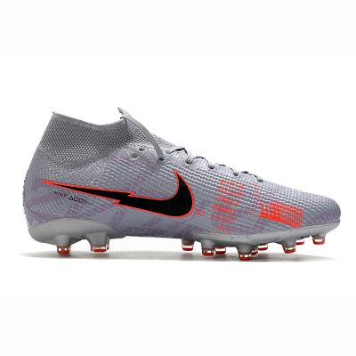 Nike Mercurial Superfly 7 Elite AG-Pro Metallic Bomber Gray Black Particle Grey