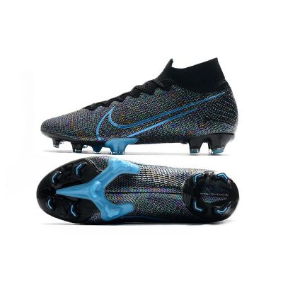 Nike Mercurial Superfly VII Elite FG Black Laser Blue