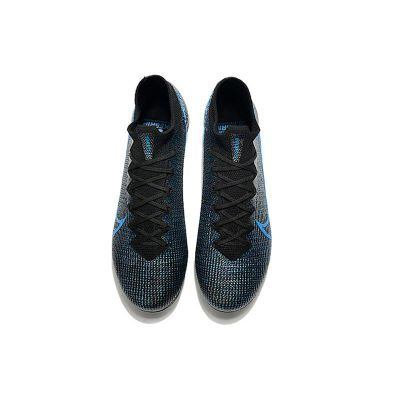 Nike Mercurial Superfly 7 Elite FG Black Black Anthracite Laser Blue