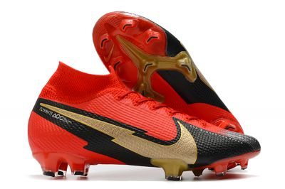 Nike Mercurial Superfly 7 Elite FG - Red Gold Black Football