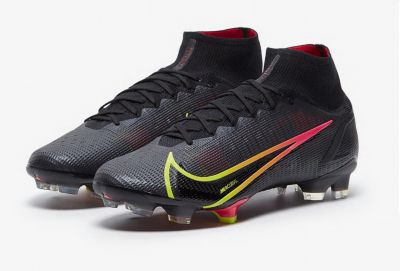 Nike Mercurial Superfly 8 Elite FG Black/Cyber/Off Noir Football