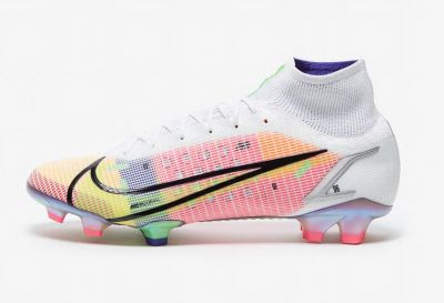 Nike Mercurial Superfly Dragonfly VIII Elite FG White/Metallic Silver/Dark Raisin Football