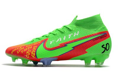 Nike Mercurial Superfly VII Elite FG Green Red Black Football Boots