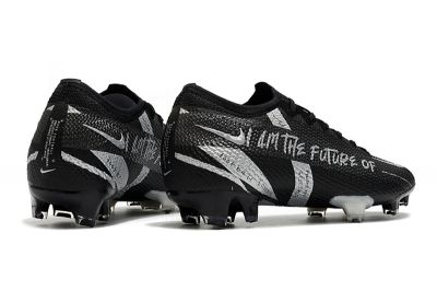 Nike Mercurial Vapor 13 Elite FG Black Silver football boots