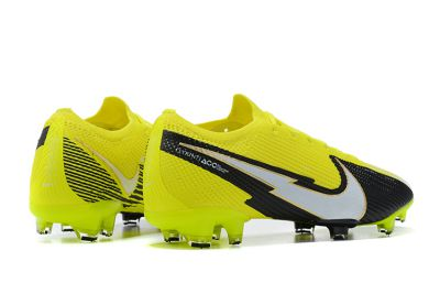 Nike Mercurial Vapor 13 Elite FG Volt Black White