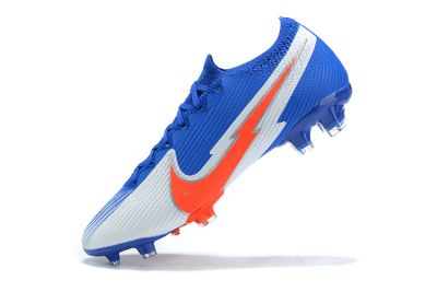Nike Mercurial Vapor VII 13 Elite FG Blue White Orange boots