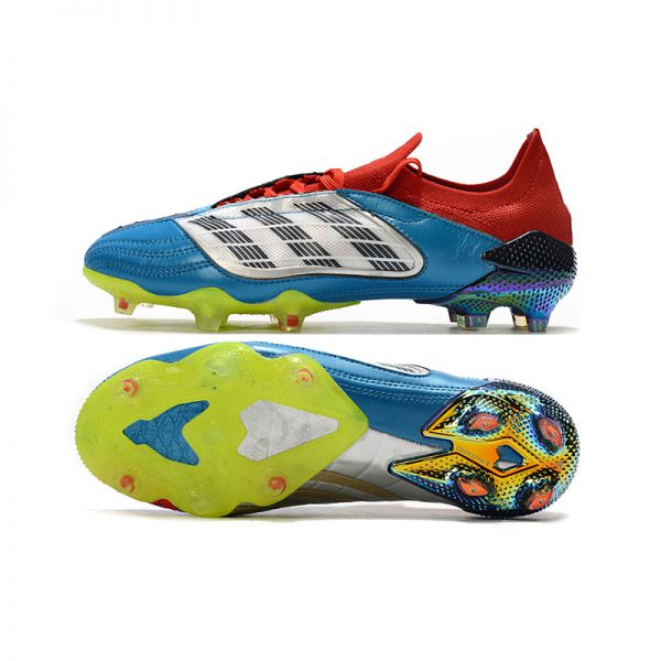Bold and Beautiful Adidas Predator Archive FG - Core Black/Footwear White/Red LIMITED EDITION