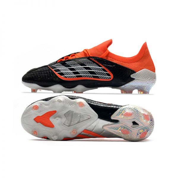 Adidas Predator Archive FG - Core Black/Red/Silver/Footwear White LIMITED EDITION – the Black Beauty